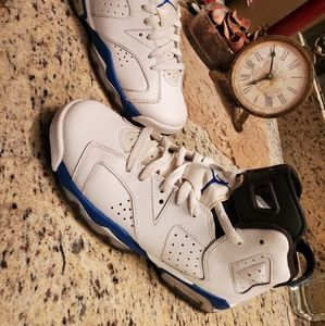 Air Jordan 6 Retro GS 'Sport Blue' 7Y/ 8.5W